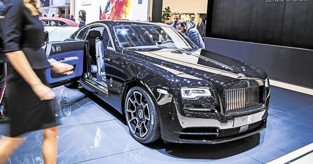 Sort slyngel er den hurtigste Rolls-Royce nogensinde
