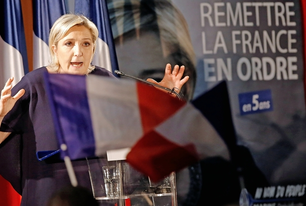 UBS: Stor chance for Le Pen som præsident