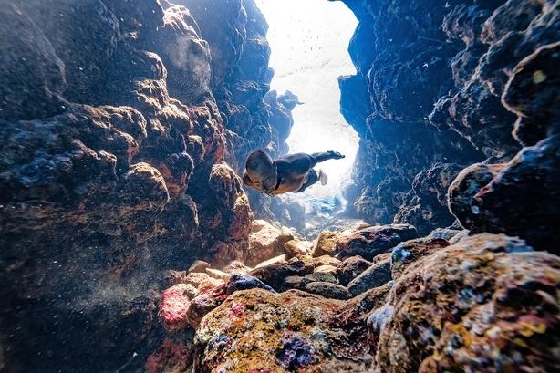 Stig Pryds genopstod på bunden af havet