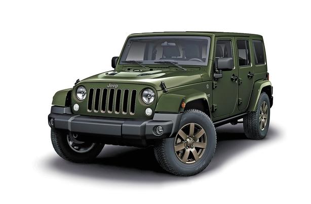 75 års rim 75 års udgave af Jeep Wrangler 75 års rim