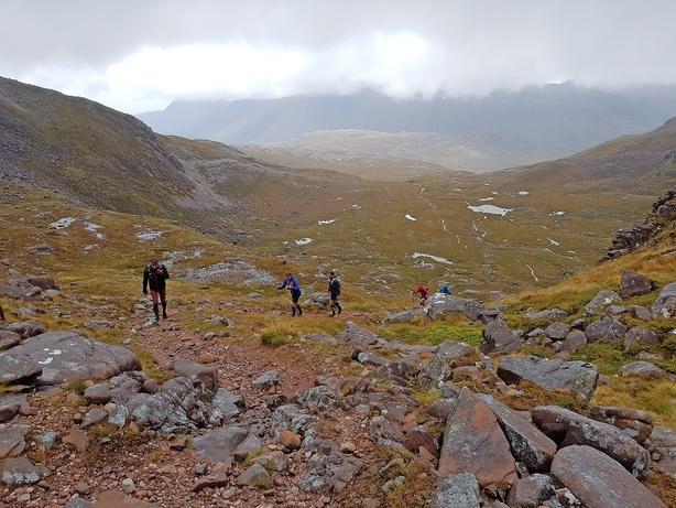 Skotland blæser løbere ud af komfortzonen