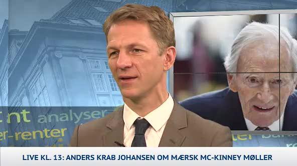 Anders Krab: Mærsk var det blå Danmarks rockstjerne