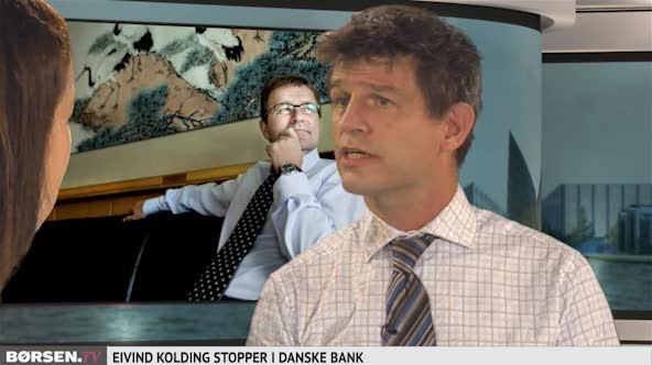 Danske Bank fyrer Eivind Kolding